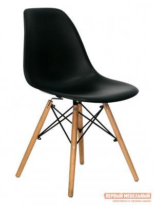 Стул  Eames Wood Черный STOOL GROUP. Цвет: черный