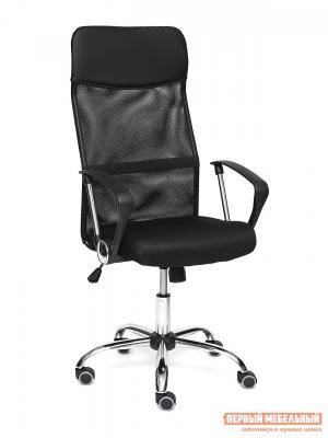 Офисное кресло  PRACTIC Кож / зам ткань, черный Tetchair. Цвет: черный