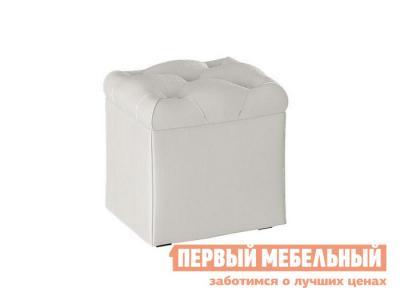 Пуфик  Тип 4 Крем ТриЯ. Цвет: белый