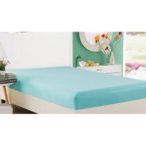 Простыня на резинке (160x200 см) PRP Вальтери. Цвет: голубой