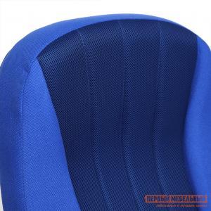 Кресло руководителя  СН833 Ткань синяя, 2601/10 (сетка) Tetchair. Цвет: синий