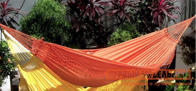 Гамак  FORRO Оранжевый Besta fiesta. Цвет: оранжевый