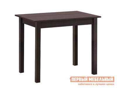 Кухонный стол  обеденный прямая ножка Венге Боровичи. Цвет: венге
