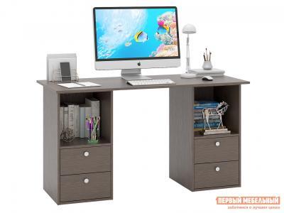 Письменный стол  Прайм-61 Венге МФ Мастер. Цвет: венге
