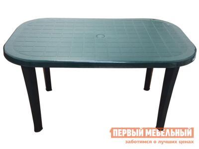 Пластиковый стол  Таити Темно-зеленый, пластик Элластик Пласт. Цвет: зеленый