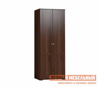 Распашной шкаф  Sherlock12 (гостиная) для одежды Орех Шоколадный Глазов. Цвет: коричневое дерево