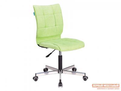 Офисное кресло  CH-330M Салатовый, вельвет Бюрократ. Цвет: зеленый