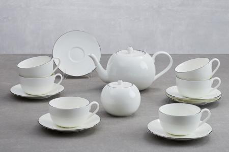Чайный сервиз на 6 персон Coupe Hoff