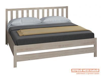 Односпальная кровать  Массив Натуральный, 1200 Х 2000 мм Боровичи. Цвет: светлое дерево