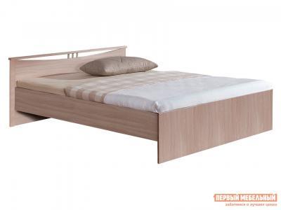 Односпальная кровать  Мелисса Шимо светлый, 900 Х 2000 мм Боровичи. Цвет: светлое дерево