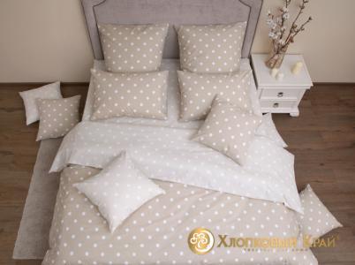 Комплекты постельного белья Хлопковый Край. Цвет: кремовый