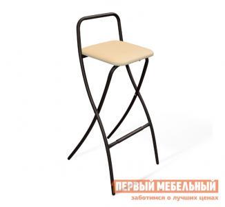 Барный стул  SHT-S46 Черный муар / Бежевый Sheffillton. Цвет: черный