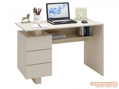 Письменный стол  Ренцо-2 Дуб молочный МФ Мастер. Цвет: светлое дерево