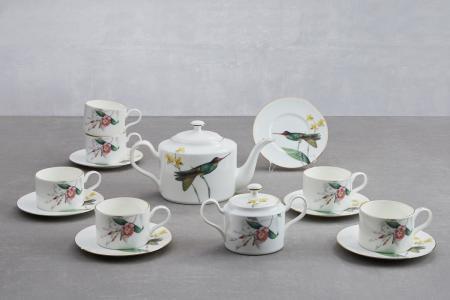Чайный сервиз на 6 персон Colibri Hoff