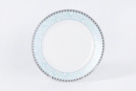 Тарелка десертная 20 см Arista Blue ESPRADO. Цвет: белый, голубой