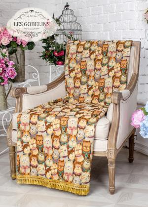 Покрывала, подушки, одеяла для малышей Les Gobelins. Цвет: коричневый, оранжевый