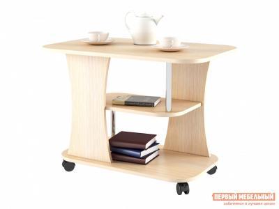 Журнальный столик  Стол Фарс Дуб молочный БОНмебель. Цвет: светлое дерево