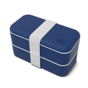 Ланч-бокс mb original (monbento) синий 18x9x10 см. Monbento. Цвет: синий