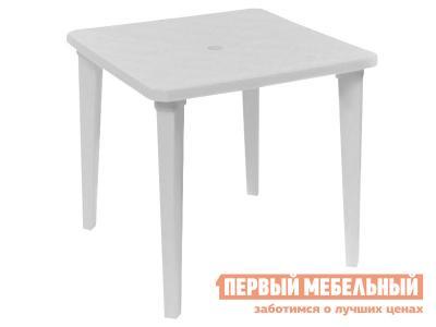 Пластиковый стол  Куба Белый, пластик Элластик Пласт. Цвет: белый