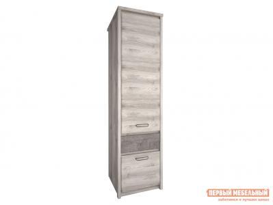 Распашной шкаф  Джаз Каштан Найроби / Оникс Анрэкс. Цвет: серый