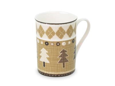 Набор из шести кружек Кофейные елки Deepot