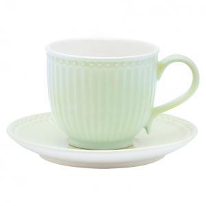Чайная пара Alice pale green GreenGate