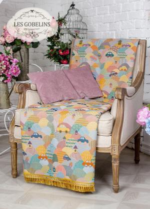 Покрывала, подушки, одеяла для малышей Les Gobelins. Цвет: голубой, желтый, зеленый