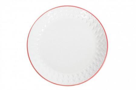 Тарелка десертная 19 см Jango Embossed Hoff
